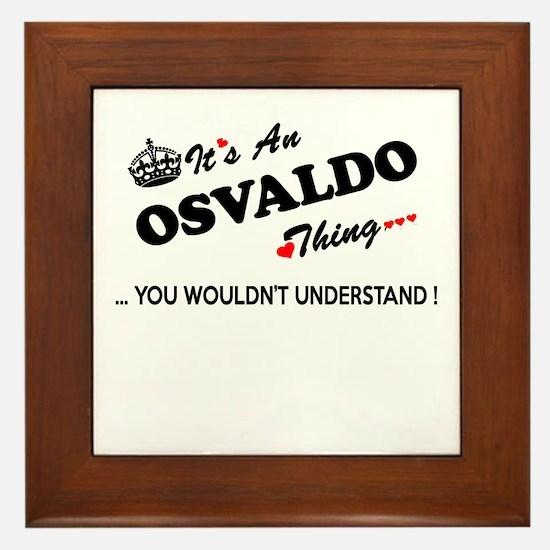 Cool Osvaldo Framed Tile