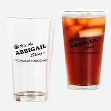 Cute Abbigail Drinking Glass