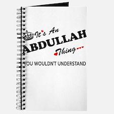 Unique Abdullah Journal