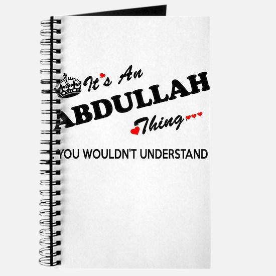 Funny Abdullah Journal