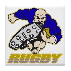 Rugby Player Tile Coaster