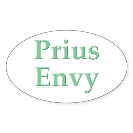 Prius Envy Oval Sticker