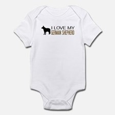 Dogs: I Love My German Shepherd Body Suit