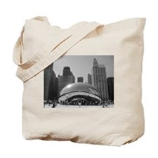 Bean, Chicago Tote Bag