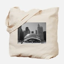 Bean, Chicago Tote Bag