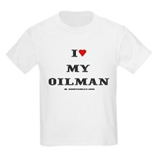 I Love My Oilman T-Shirt