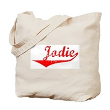 Jodie Vintage (Red) Tote Bag