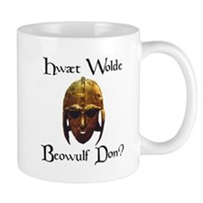 What Would Beowulf Do? Small Small Mug