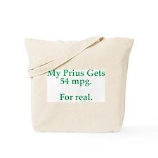 Prius 54 MPG Tote Bag