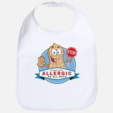 Allergic All Nuts Bib