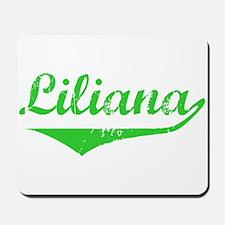 Liliana Vintage (Green) Mousepad