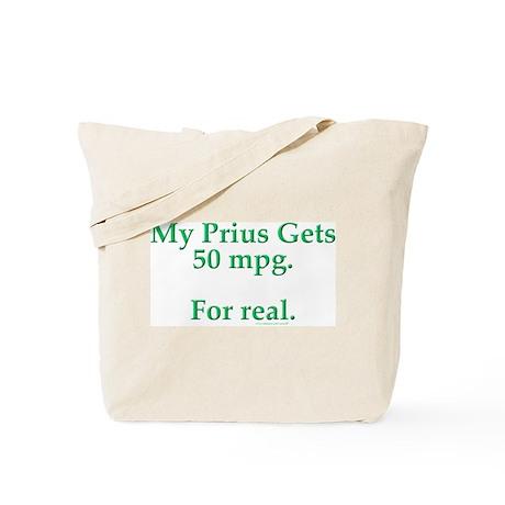 Prius 50 MPG Tote Bag