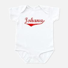 Johana Vintage (Red) Infant Bodysuit