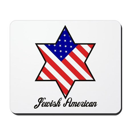 Jewish American Mousepad