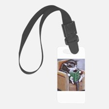 Reading Cat Luggage Tag