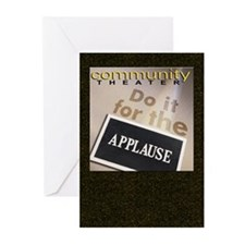 Do It For Applause Cards (6) - BLANK