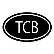 TCB Oval Decal