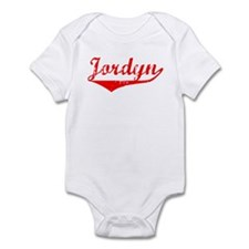 Jordyn Vintage (Red) Infant Bodysuit
