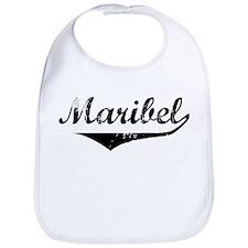 Maribel Vintage (Black) Bib