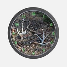 Big shed antlers Wall Clock