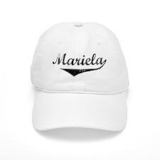 Mariela Vintage (Black) Baseball Cap