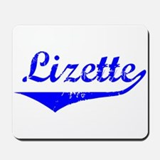 Lizette Vintage (Blue) Mousepad