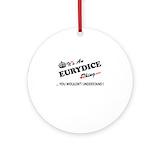 Eurydice Round Ornaments