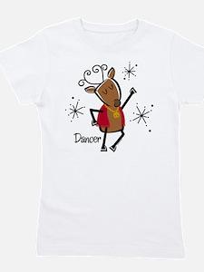 Dancer Reindeer Girl's Tee