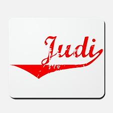 Judi Vintage (Red) Mousepad