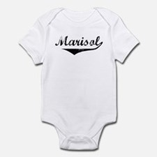 Marisol Vintage (Black) Infant Bodysuit