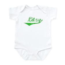Litzy Vintage (Green) Infant Bodysuit