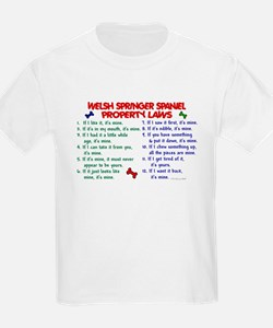 Welsh Springer Spaniel Property Laws 2 T-Shirt