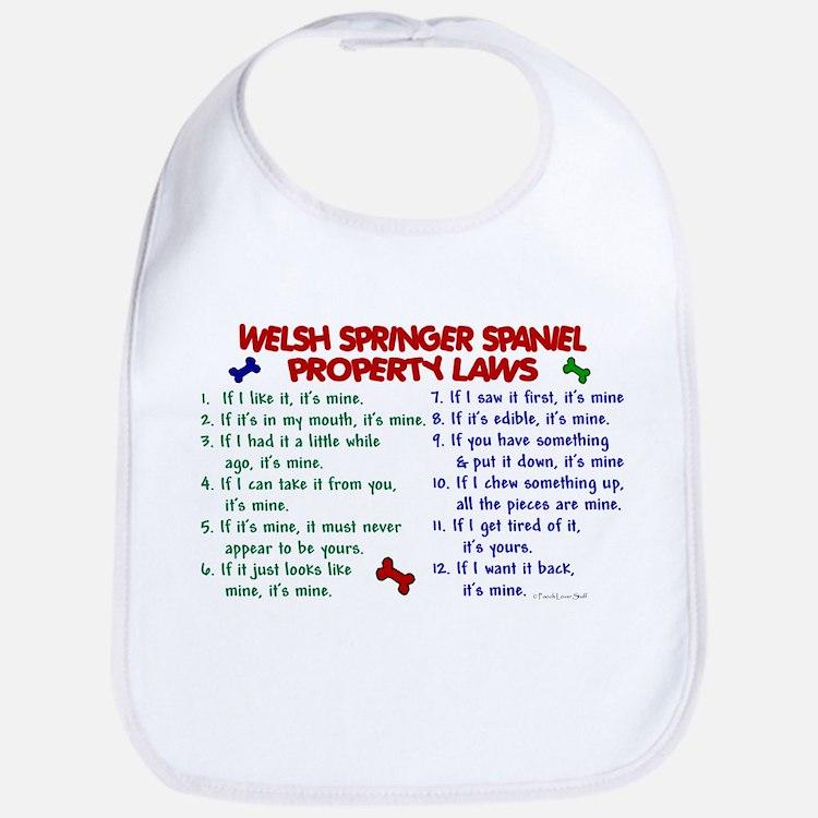 Welsh Springer Spaniel Property Laws 2 Bib