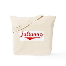 Julianne Vintage (Red) Tote Bag