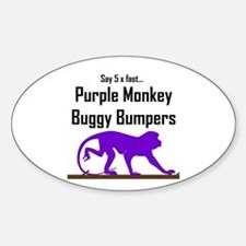 Pmbuggybumpers5x Oval Decal