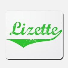 Lizette Vintage (Green) Mousepad