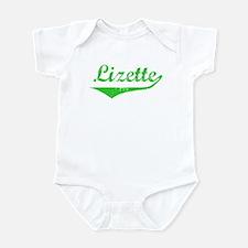 Lizette Vintage (Green) Infant Bodysuit