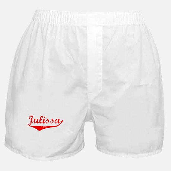 Julissa Vintage (Red) Boxer Shorts