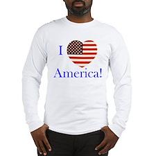 I Love America! Long Sleeve T-Shirt