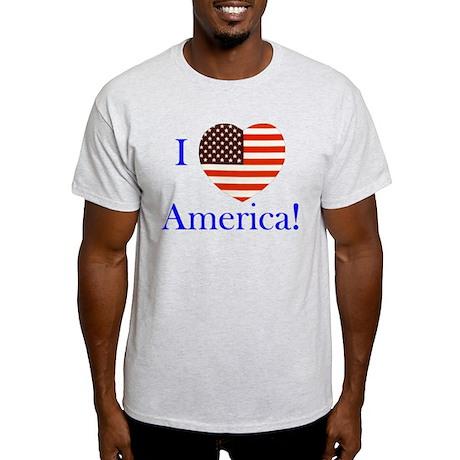 I Love America! Light T-Shirt