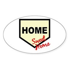 Home Sweet Home Oval Decal