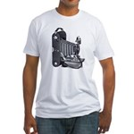 Camera Fitted T-Shirt
