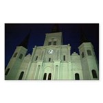 Saint Louis Cathedral Rectangle Sticker
