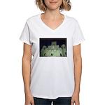 Saint Louis Cathedral Women's V-Neck T-Shirt