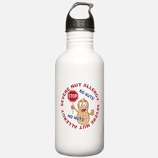 Severe Nut Allergy Water Bottle