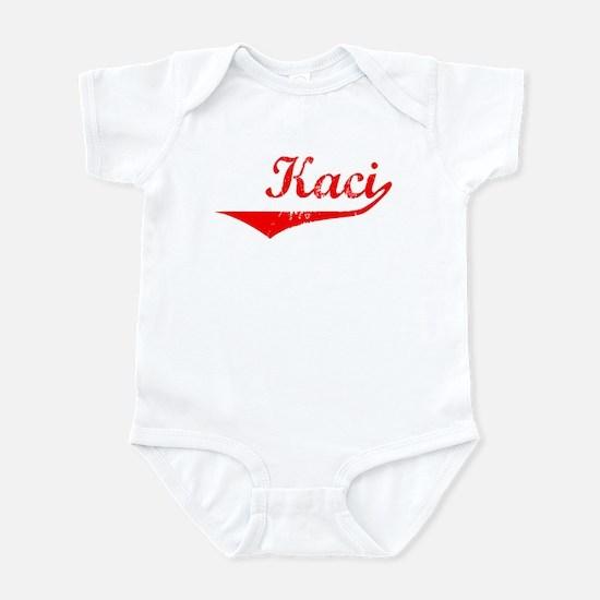 Kaci Vintage (Red) Infant Bodysuit