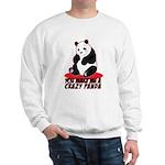 Crazy Panda Sweatshirt