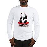 Crazy Panda Long Sleeve T-Shirt