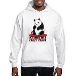 Crazy Panda Hooded Sweatshirt