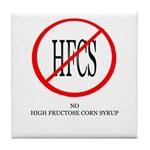 No HFCS Tile Coaster